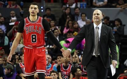 Boylen difende i Bulls e LaVine gli paga la multa