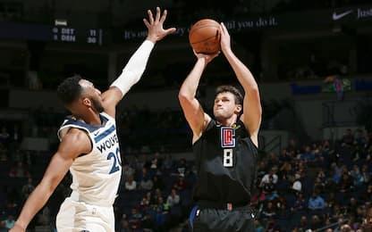 Clippers ai playoff, Spurs battuti a Charlotte