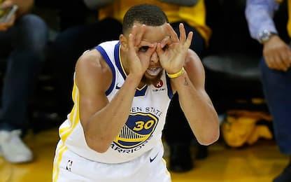 L'assurdo segreto di Curry: non ci vede da lontano
