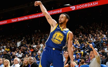 Playoff a Ovest: Curry da 40, Denver tiene duro