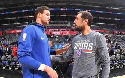 Playoff NBA: Gallo vs gli Warriors, Beli a Denver