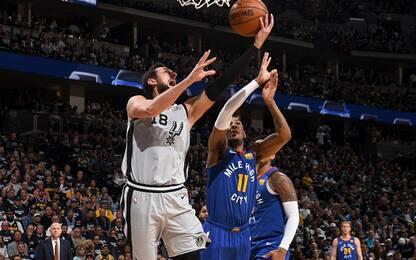 Spurs, che colpo! Denver perde la prima in casa
