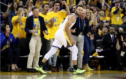 Curry on fire, L.A. perde gara-1 con Golden State