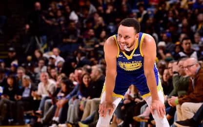 Curry, come te nessuno mai da tre punti ai playoff