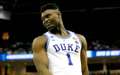 Zion Williamson si dichiara per il Draft NBA