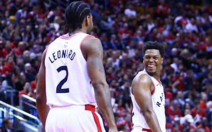 Toronto travolge Orlando in gara-2, 37 per Leonard