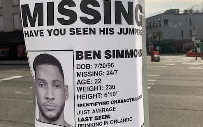 A Brooklyn cercano il tiro scomparso di Simmons