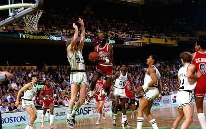 """""""Dio travestito da Michael Jordan"""": 33 anni fa"""