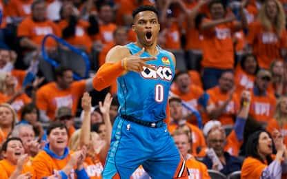 Westbrook mantiene la promessa: OKC vince gara-3