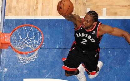Toronto, terza vittoria in fila firmata Leonard