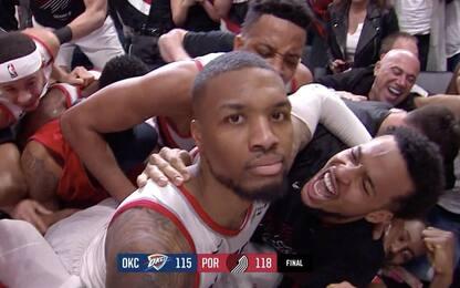 Le reazioni della NBA al super canestro di Lillard