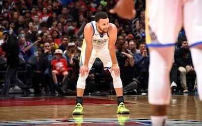 """Curry si gira la caviglia: """"Sarò ok per gara-1"""""""