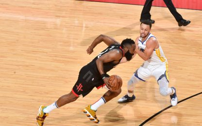 Playoff, semif. conference: Golden State-Houston