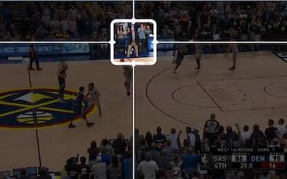 Perché gli Spurs non hanno fatto fallo alla fine?