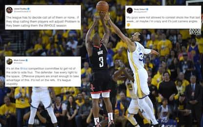 Le reazioni della NBA all'arbitraggio di gara-1