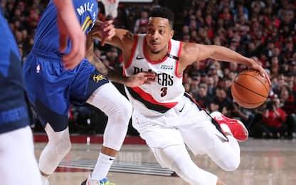 Partita folle a Portland: Blazers sul 2-1 dopo 4OT