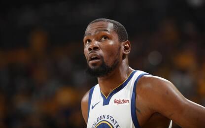 Infortunio Durant: quanto tempo resterà fuori?