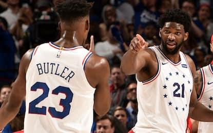 Embiid-Butler guidano i 76ers, conquistata gara-7