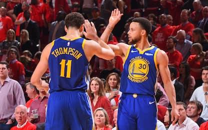 Cuore Warriors: vincono gara-6, Rockets eliminati
