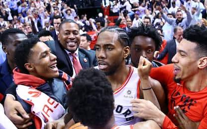 Le reazioni del mondo NBA al canestro di Leonard