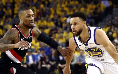 Playoff NBA finale di Conference: Warriors-Blazers