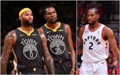 Durant, Cousins, Leonard: il ruolo degli infortuni