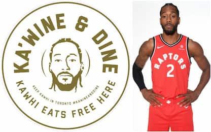Mangia&bevi gratis: l'offerta di Toronto per Kawhi