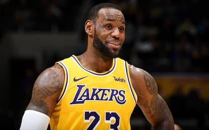 Quanto manca LeBron James nei playoff 2019