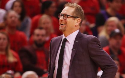 Nick Nurse e il weekend a casa di Phil Jackson