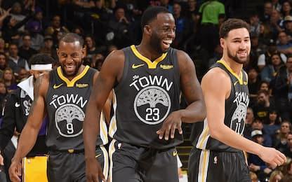 Non solo Curry-KD: i protagonisti in casa Warriors