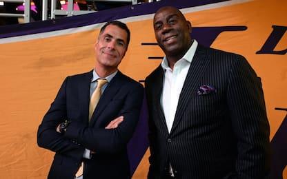 Lakers, i retroscena della direzione Magic-Pelinka