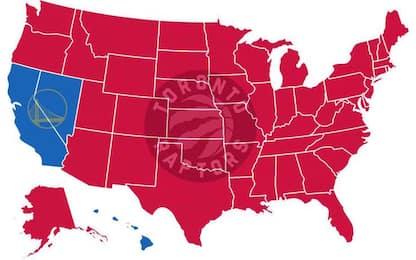Tutti contro Golden State: gli USA tifano Raptors