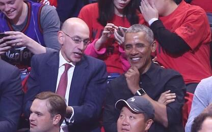 Barack Obama a Toronto per seguire gara-2