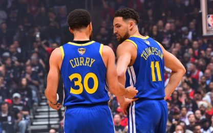 "Curry: ""Ho pianto dopo l'infortunio di Klay"""