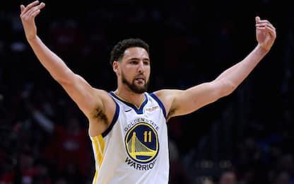 Warriors, in gara-4 torna Thompson ma non Durant