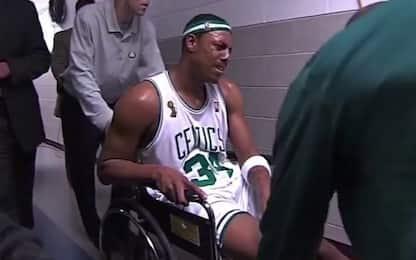 """Pierce: """"La sedia del 2008? Sono andato in bagno"""""""