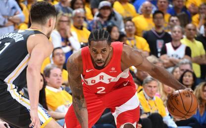 Toronto travolge Golden State: è 3-1 nella serie