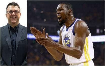 """Tranquillo: """"Solo Durant può cambiare il destino"""""""