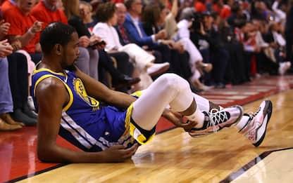 Durant si fa male: infortunio al tendine d'Achille