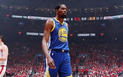Infortunio Durant: come cambia il mercato NBA