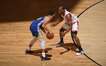 Golden State-Toronto: gara-6 alle 3 su Sky Sport