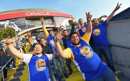 Addio Oakland: l'ultima partita alla Oracle Arena
