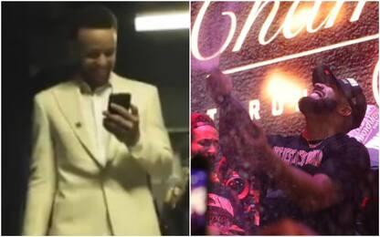 Drake telefona a Curry e riceve i complimenti