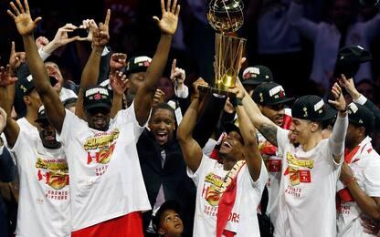 Toronto vince alla Oracle, Raptors campioni NBA