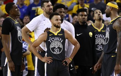"""Gli Warriors avvisano: """"Non è la fine di un'era"""""""