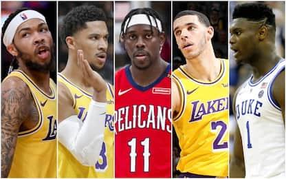 Pelicans, nuovo quintetto e la 4^ scelta al Draft