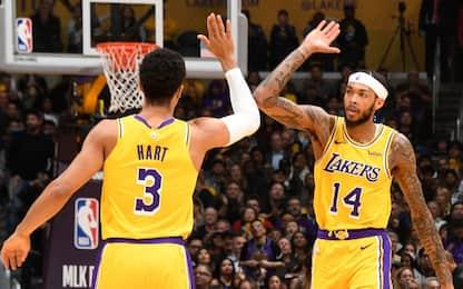 Davis ai Lakers: la reazione di Magic e della NBA