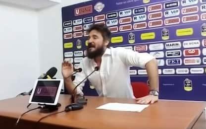 """Pozzecco si infuria dopo gara-5: """"Io non piango"""""""