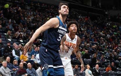Saric a Phoenix e scambio di scelte Suns-T'Wolves