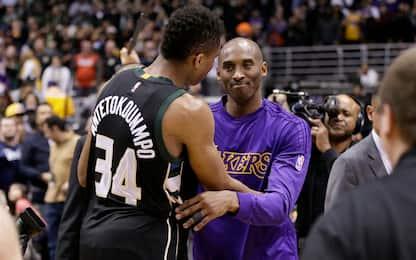 "La sfida di Kobe a Giannis 2 anni fa: ""Sarai MVP"""